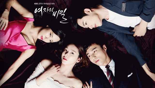 韓国ドラマ「女の秘密」あらすじキャスト情報