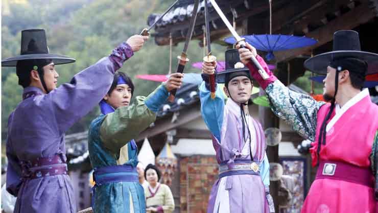 韓国ドラマ「三銃士」のあらすじと概要