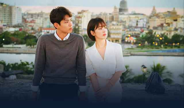 韓国ドラマボーイフレンドUNEXT画面