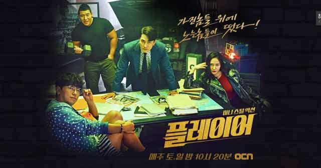 韓国ドラマプレーヤー〜華麗なる天才詐欺師〜のサイトキャプチャー画像