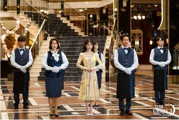 韓国ドラマホテルデルーナのホテル画像